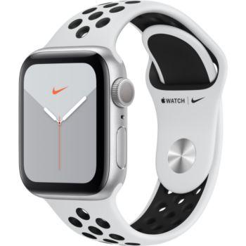 Apple Watch Nike 40MM Alu Platine /Noir Series 5