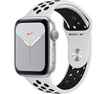 Montre connectée Apple Watch  Nike 44 MM Alu Platine / Noir Series 5