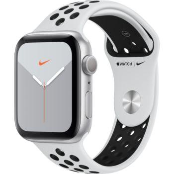 Apple Watch Nike 44 MM Alu Platine / Noir Series 5