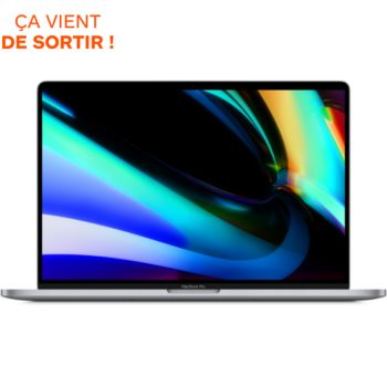 Macbook Pro 16 Touch Bar I9 1To Gris Sidéral