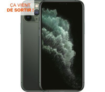 Smartphone Apple iPhone 11 Pro Vert Nuit 256 Go