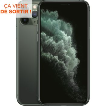 Apple iPhone 11 Pro Vert Nuit 256 Go