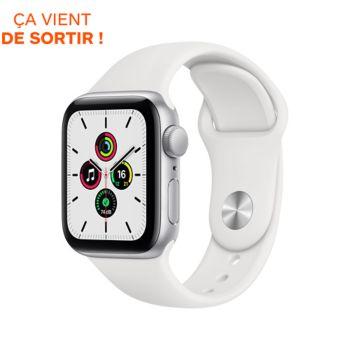 Apple Watch SE 40MM Alu Argent/Blanc