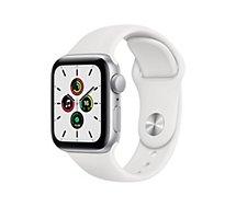 Montre connectée Apple Watch  SE 40MM Alu Argent/Blanc
