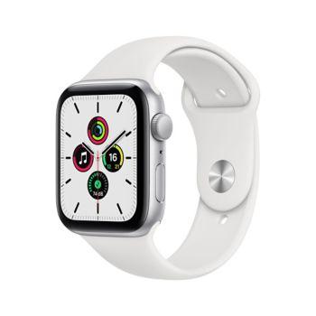 Apple Watch SE 44MM Alu Argent/Blanc