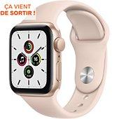 Montre connectée Apple Watch SE 44MM Alu Or/Rose