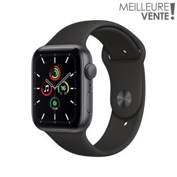 Apple Watch SE 44MM Alu Gris/Noir