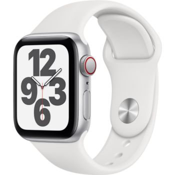 Apple Watch SE 40MM Alu Argent/Blanc Cellular