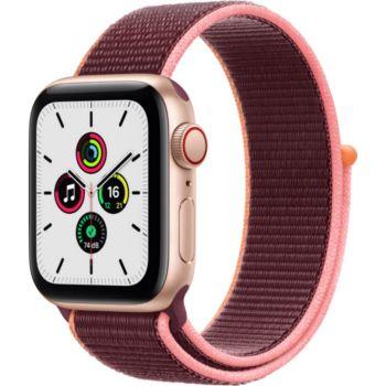 Apple Watch SE 40MM Alu Or/Boucle Prune Cellular