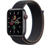 Montre connectée Apple Watch  SE 40MM Alu Gris/Noir Cellular