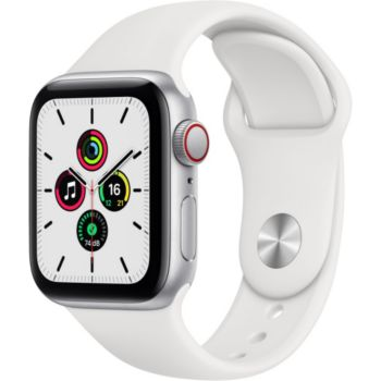 Apple Watch SE 44MM Alu Argent/Blanc Cellular