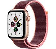 Apple Watch SE 44MM Alu Or/Boucle Prune Cellular