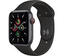 Montre connectée Apple Watch  SE 44MM Alu Gris/Noir Cellular