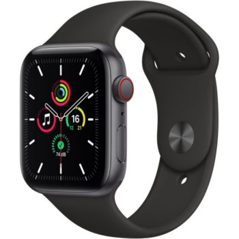 Apple Watch SE 44MM Alu Gris/Noir Cellular