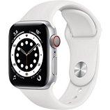 Montre connectée Apple Watch  40MM Alu Argent/Blanc Series 6 Cellular