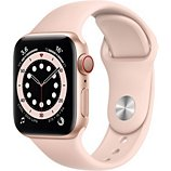 Montre connectée Apple Watch  40MM Alu Or/Rose Series 6 Cellular