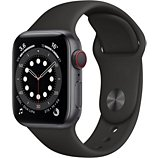 Montre connectée Apple Watch  40MM Alu Gris/Noir Series 6 Cellular