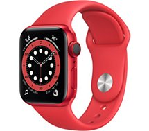 Montre connectée Apple Watch  40MM Alu Rouge/Rouge Series 6 Cellular