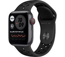 Montre connectée Apple Watch  Nike 40MM Alu Gris/Noir Series 6 Cellula