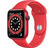Montre connectée Apple Watch  44MM Alu Rouge/Rouge Series 6 Cellular
