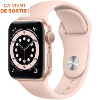 Apple Watch 40MM Alu Or/Rose Series 6