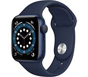 Apple Watch 40MM Alu Bleu/Bleu Series 6