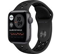 Montre connectée Apple Watch  Nike 44MM Alu Gris/Noir Series 6