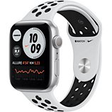 Montre connectée Apple Watch  Nike 44MM Alu Argent/ Noir Series 6