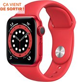 Montre connectée Apple Watch 40MM Alu Rouge/Rouge Series 6