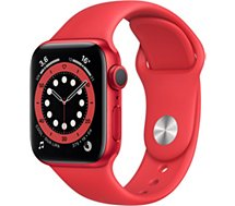 Montre connectée Apple Watch  40MM Alu Rouge/Rouge Series 6