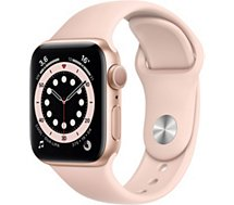 Montre connectée Apple Watch  44MM Alu Or/Rose Series 6