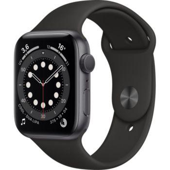 Apple Watch 44MM Alu Gris/Noir Series 6