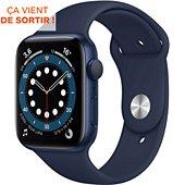Montre connectée Apple Watch 44MM Alu Bleu/Bleu Series 6