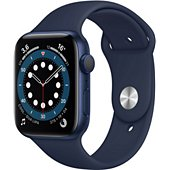 Montre connectée Apple Watch 44MM Alu Bleu/Bleu Series 6