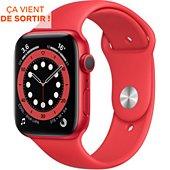 Montre connectée Apple Watch 44MM Alu Rouge/Rouge Series 6