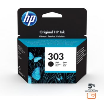 HP N°303 Noir