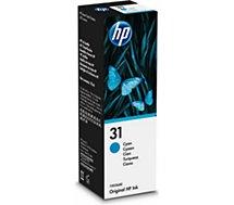 Cartouche d'encre HP  Bouteille 31 Cyan