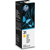 Cartouche d'encre HP Bouteille 31 Jaune