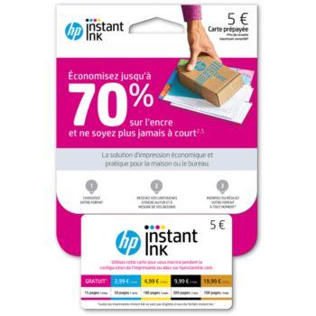 HP Instant Ink Abonnement cartouches