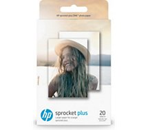 Papier photo HP 20 feuilles ZINK pour Sprocket Plus