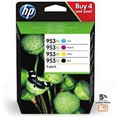 Cartouche d'encre HP 953 XL Noire + 3couleurs