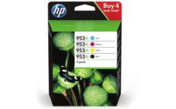 Cartouche d'encre HP N 953 XL Noire + 3couleurs