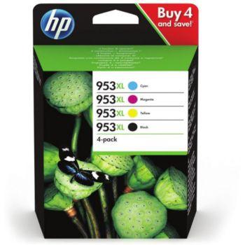 HP N 953 XL Noire + 3couleurs