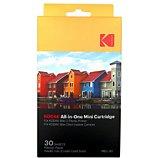 Papier photo instantané Kodak  pour Mini Shot et Mobile Print 2 (x30)