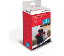 Papier photo instantané Agfaphoto  Cartouche + 50 films pour Realipix mini
