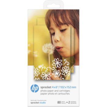 HP 2 cartouches + 80 feuilles pour Studio