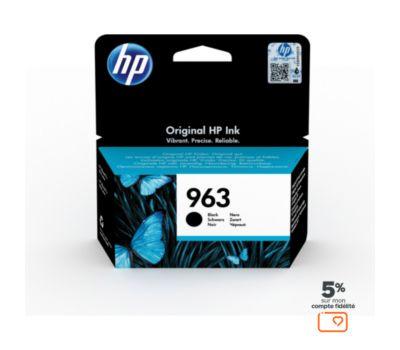 Cartouche d'encre HP 963 Noire