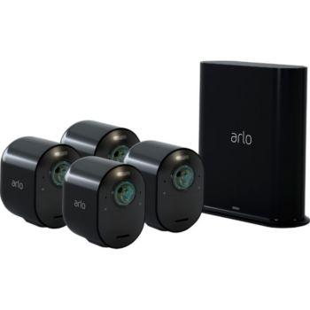 Arlo Ultra 4K Black Kit de 4 cam VMS5440B