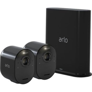 Arlo Ultra 4K Black Kit de 2 cam VMS5240B