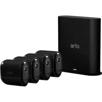 Arlo Pro 3 Black Kit de 4 cam VMS4440B